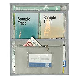 Transparent Pouch for invitation work and special campaigns - Bible Gray