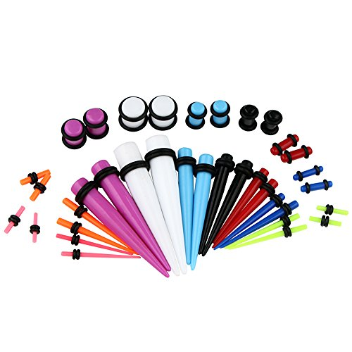 vcmart Coloured Gauges Stretching Tunnel