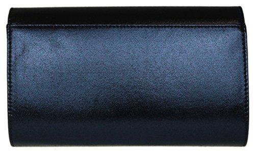 Bag HandBags Navy Shimmer Clutch Frame Girly HnUSaa