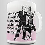 Funny Ginger Rogers Coffee Mug