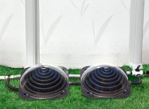 Game solarpro xd1 aquaquik swimming pool solar heater heating import it all for Swimming pool solar heaters amazon
