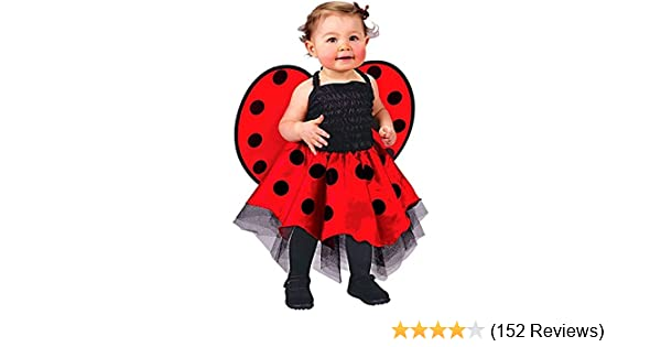 e02ef114d Amazon.com  Ladybug Costume Baby One Size Fits Up To 24 Months  Baby