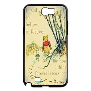 Customized Winnie the Pooh Hard Case For Samsung Galaxy Note 2 Case TPUKO-Q842542