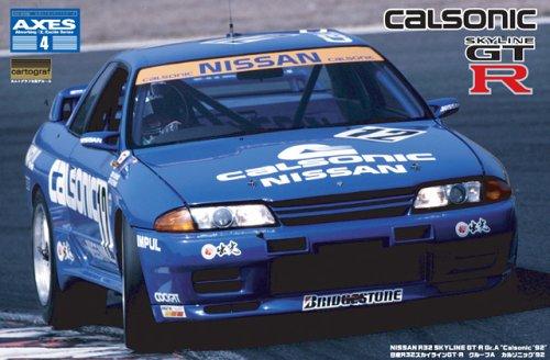 フジミ模型 1/12 AXES No.04 R32スカイラインGT-R カルソニック `92