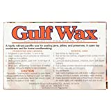 Gulf Wax Household Paraffin Wax 1 Pound Bars (3 Packs)