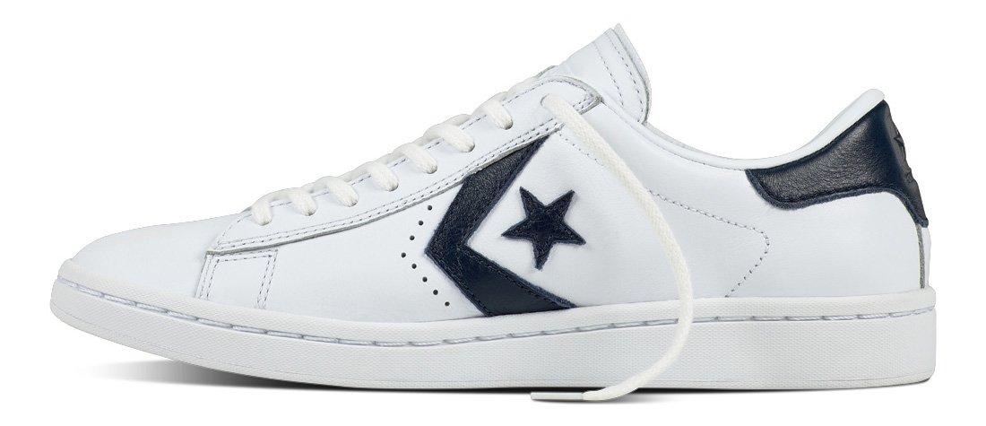 Converse Womens Pro Leather LP Sneaker B01HP49INI 11 D(M) US|White/Obsidian/White