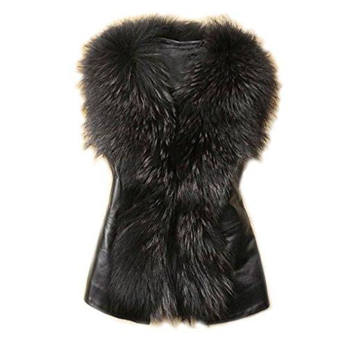 Robiear Women Jacket Winter Waistcoat