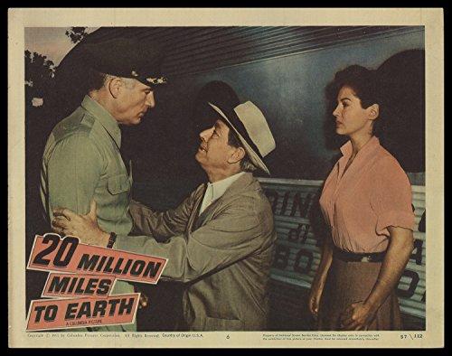 20 Million Miles to Earth 1957 ORIGINAL MOVIE POSTER Fantasy Horror Sci-Fi – Dimensions: 11″ x 14″