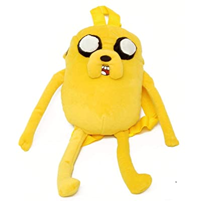 Cartoon Network Adventure Time with Finn and Jake - Jake Character Plush Backpack: Everything Else
