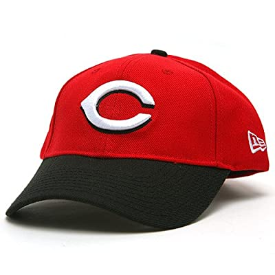 Cincinnati Reds Replica Adjustable Road Cap - Red/Black Adjustable from New Era
