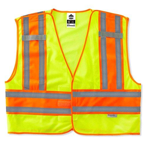 (Ergodyne - 8245PSV L/XL Lime Public Safety Vest )