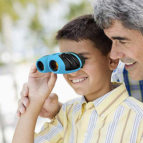 Kids Toys age 3-12,TOP Gift Compact Binocular Boy Birthday Presents Gifts Toys for 3-12 Year Old Girls Boys Toys age 3-12 2018 Christmas Gifts for 3-12 Year Old Boys Girls Stocking Fillers Blue TGUS8