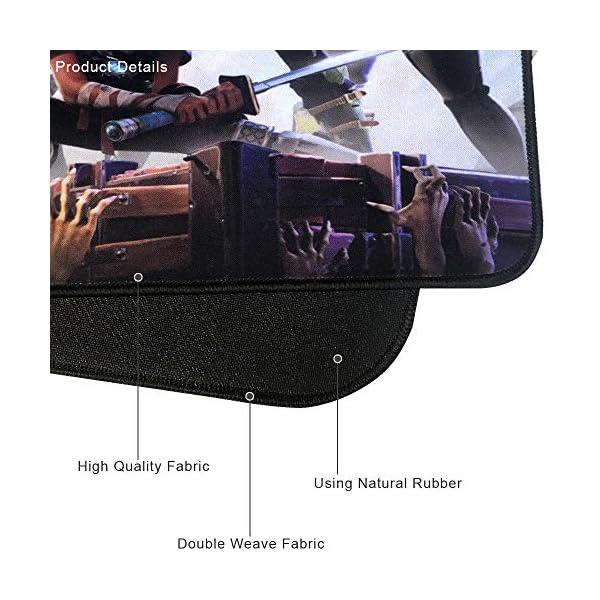 TEMOR Alfombrilla de ratón Grande Alfombrilla Gaming ratón láser, óptico XXL 900x400mm, Lavable, Base de Caucho para… 10