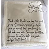 Fleece Throw Blanket for someone you want to give a hug to