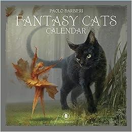 Barbieri Fantasy Cats Calendar 2019 Barbieri Paolo 9780738758824 Amazon Com Books
