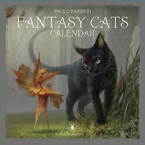 - Barbieri Fantasy Cats Calendar 2019
