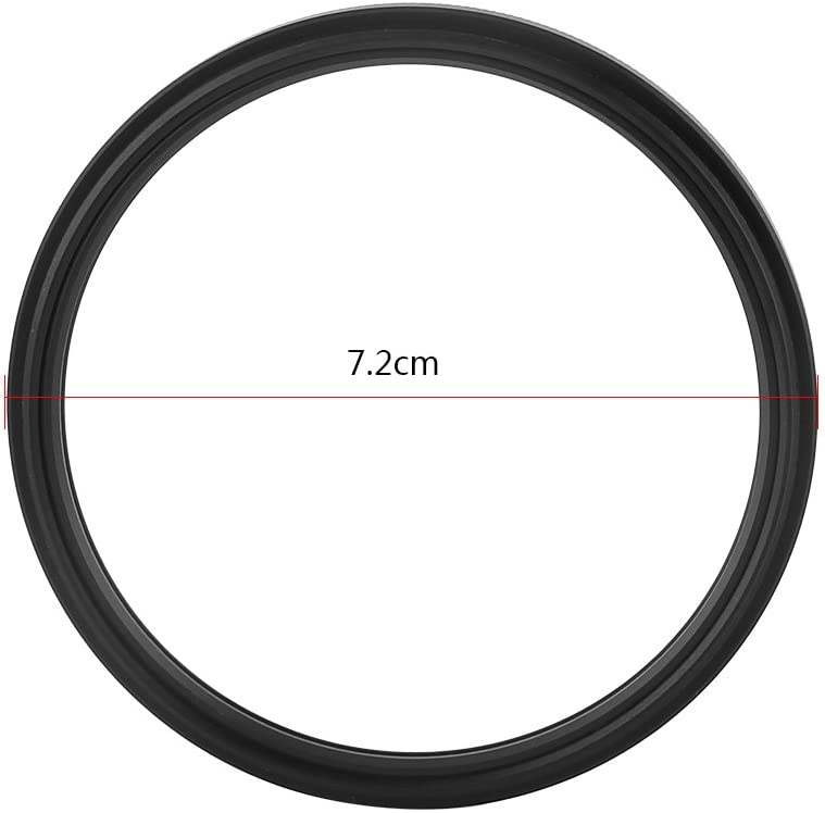 Durable UV Protection Photography Filter Compatible with Canon Nikon Sony DSLR Camera Lens-72mm Yuehuam 72mm UV Filter for Camera Lenses