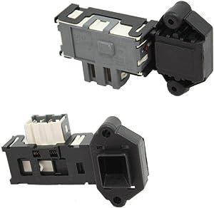 Samsung DC64-00653A Washer Door Lock Assembly Genuine Original Equipment Manufacturer (OEM) Part