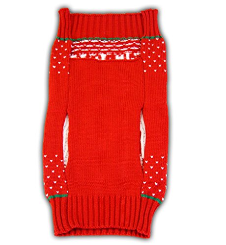 Home Alone Merry Christmas Ya Filthy Animal Red Ugly Sweater for Pets (Small) by Home Alone (Image #1)