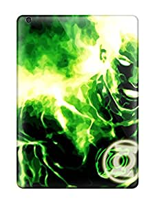 Rose Plumley Premium Protective Hard Case For Ipad Air- Nice Design - Green Lantern