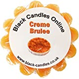 Black Candles Wax Tart Melt - Creme Brulee Fragrance by Black Candles Online