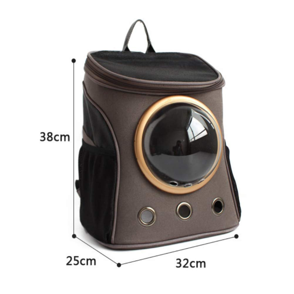 A ZHH pet backpack double shoulder breathable space bag dog creative shoulder bag pet double shoulder bag out of the line portable cat bag,A