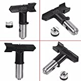 Useful Reversible Tungsten Spray Gun Nozzle Steel Airless Paint Spray Gun Tips Nozzle Accessoies Home Graden