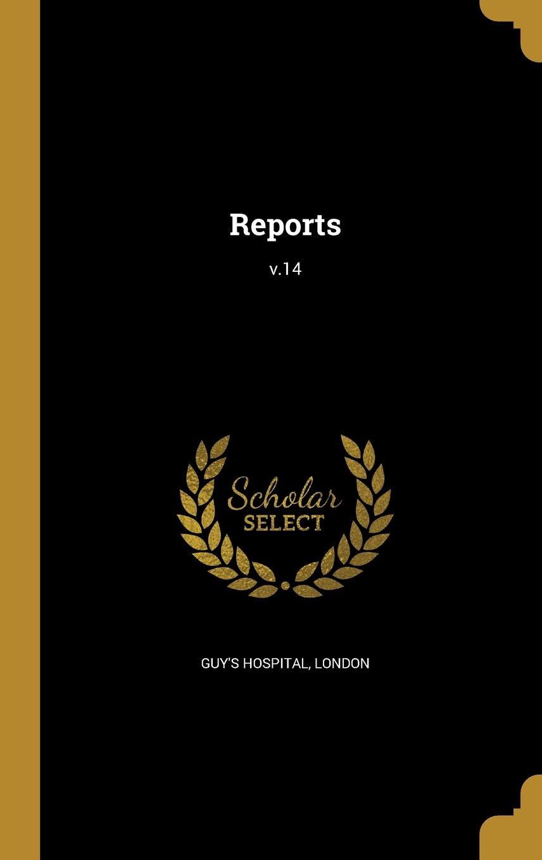 Download Reports; V.14 ebook