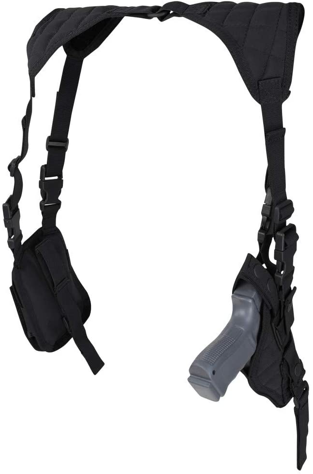 CONDOR ASH-002 Vertical Shoulder Holster Black
