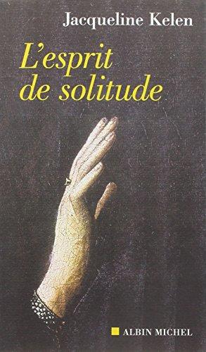 Esprit de Solitude (L') (Spiritualites Grand Format) (French Edition)