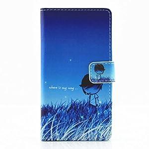 Huawei P9Lite Schutzhülle PU-Leder magnetisch Inlineskater -