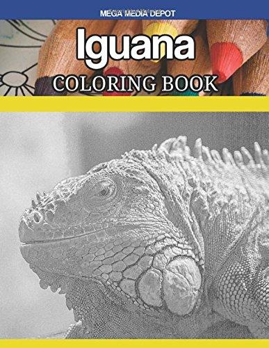 Iguana Coloring Book ebook