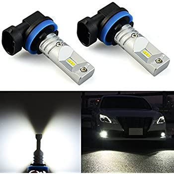 Superior JDM ASTAR Extremely Bright CSP Chipsets H11 H8 LED Fog Light Bulbs For DRL  Or Fog
