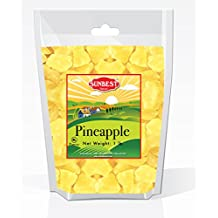 SUNBEST Dried Pineapple Chunks in Resealable Bag … (1 Lb)