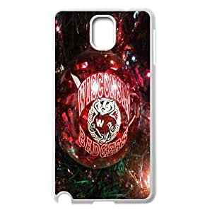 Christmas Wisconsin Badger Celebration Samsung Galaxy Note 3 Cases, Tyquin - White