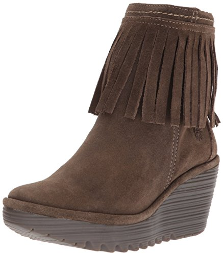 Boot Ankle Oil Ankle Yagi766fly Womens FLY Sludge London Yagi766fly London Sludge Boot Suede FLY Womens BqgCCwd