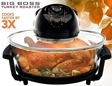 Big Boss 8861 1300 Watt Oval Rapid Wave Oven and Turkey Roaster : I'm comparing the two here for a better picture as to why I think this one is