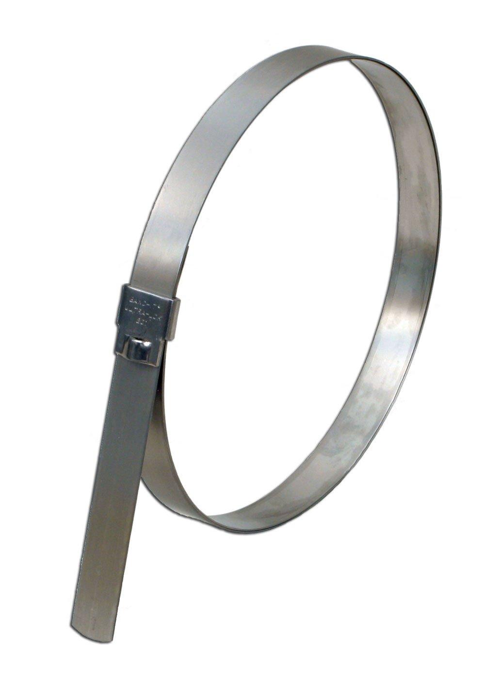 7 Diameter 7 Diameter BAND-IT UL2189 Ultra-Lok 3//4 Wide x 0.030 Thick 25 per box 201 1//4 Hard Stainless Steel Preformed Clamp