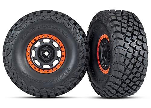 Traxxas 8472 Desert Racer Wheels with Bfgoodrich Baja Kr3 Tires, Black
