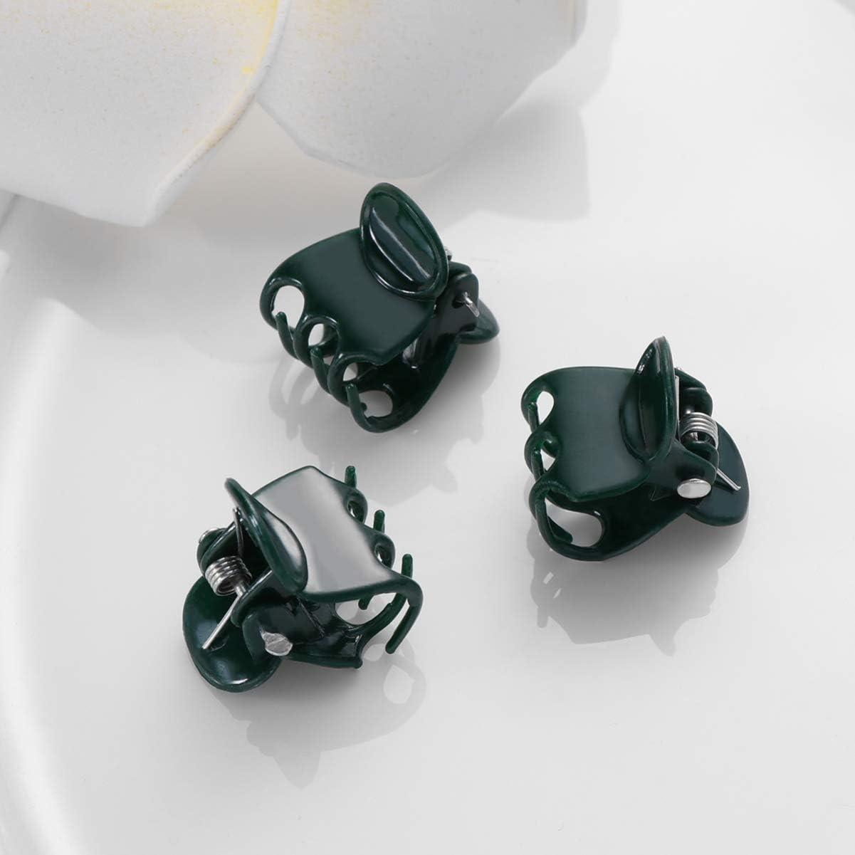 soporte de plantas clips de sujeci/ón para sujetar tallos de vid de flores de tomate Yardwe 100 clips de orqu/ídea verde oscuro para sujetar plantas