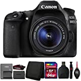 Canon EOS 80D DSLR Camera with 18-55mm IS STM Lens and Accessory Kit