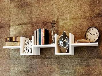 alonzo wall shelf unique white wall shelving unit modern