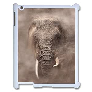 African Elephant Personalized Cover Case with Hard Shell Protection for Ipad2,3,4 Case lxa#821589