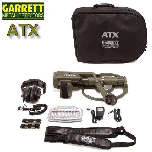 Garrett - Detector de metales ATX para buscar oro, tecnología de inducción pulsada: Amazon.es: Bricolaje y herramientas