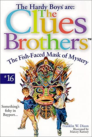 book cover of Fish-Faced Mask of Mystery