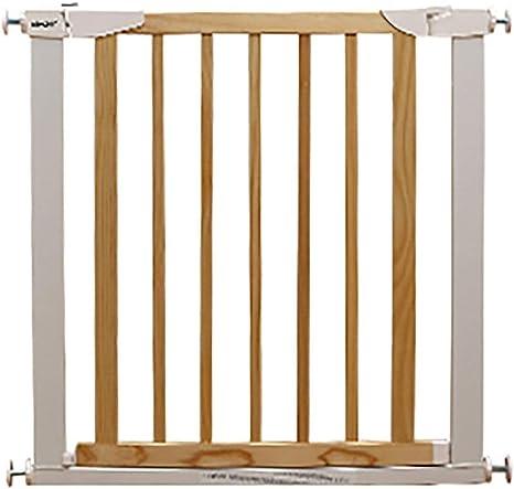 L.TSA Parque Infantil de Seguridad para bebés Puerta para bebés retráctil Puerta de Seguridad para niños Barrera para niños Puerta de Puerta Puertas de Escalera Puerta de bebé con Puerta par: Amazon.es:
