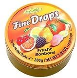 WOOGIE Fine Drops Fruit Mix Candies 200g