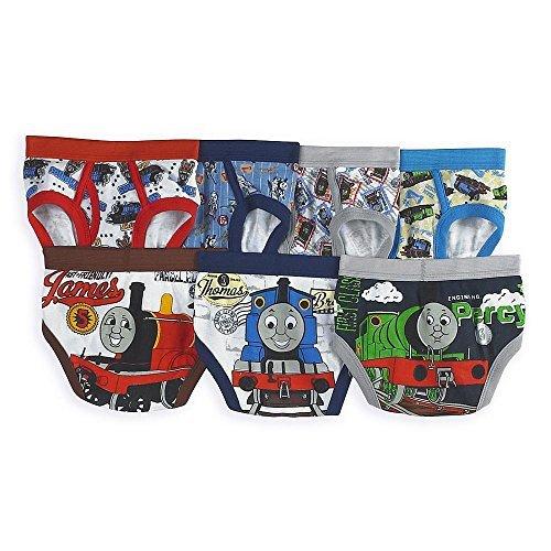 (Thomas the Tank Engine Train Toddler Boys' 7 Pack Underwear Briefs, Multi,)