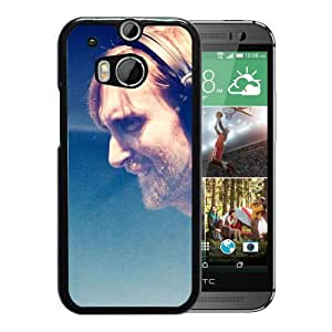 Beautiful Designed Cover Case With David Guetta Concert Headphones Look Club For HTC ONE M8 Phone Case
