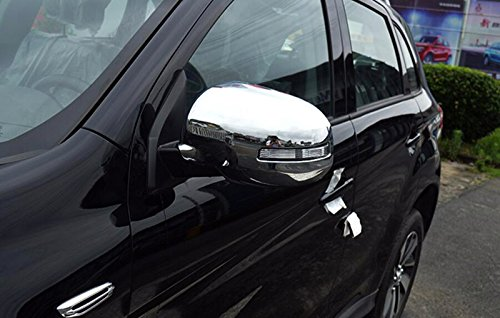 High Flying Abs Chrome Side Rear View Mirror Cap Cover